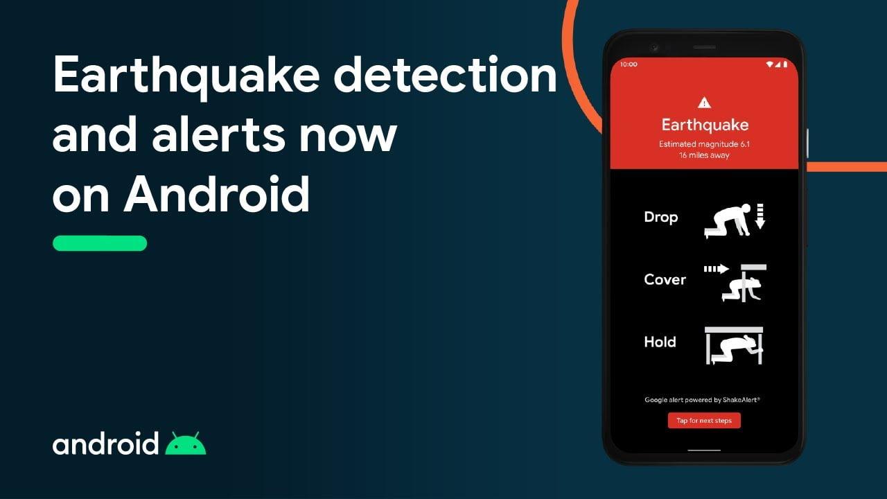 2,5 δισ. κινητά Android ενωμένα σε ένα δίκτυο που θα μας ειδοποιεί για σεισμούς: check!