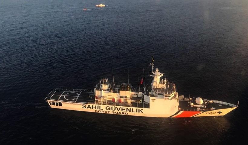 Τουρκική ακταιωρός παρενόχλησε ελληνικό αλιευτικό στα Ίμια (video)