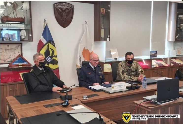 Η Κύπρος υπέγραψε Πρόγραμμα Διμερούς Αμυντικής Συνεργασίας με την Ιορδανία