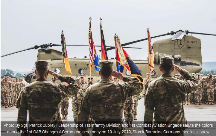 Δραστηριοποίηση Ταξιαρχίας Αεροπορίας Στρατού των ΗΠΑ στην Αλεξανδρούπολη
