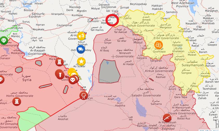 Δυσφορία της Άγκυρας για βάση που χτίζουν οι ΗΠΑ στα σύνορα Συρίας-Ιράκ-Τουρκίας