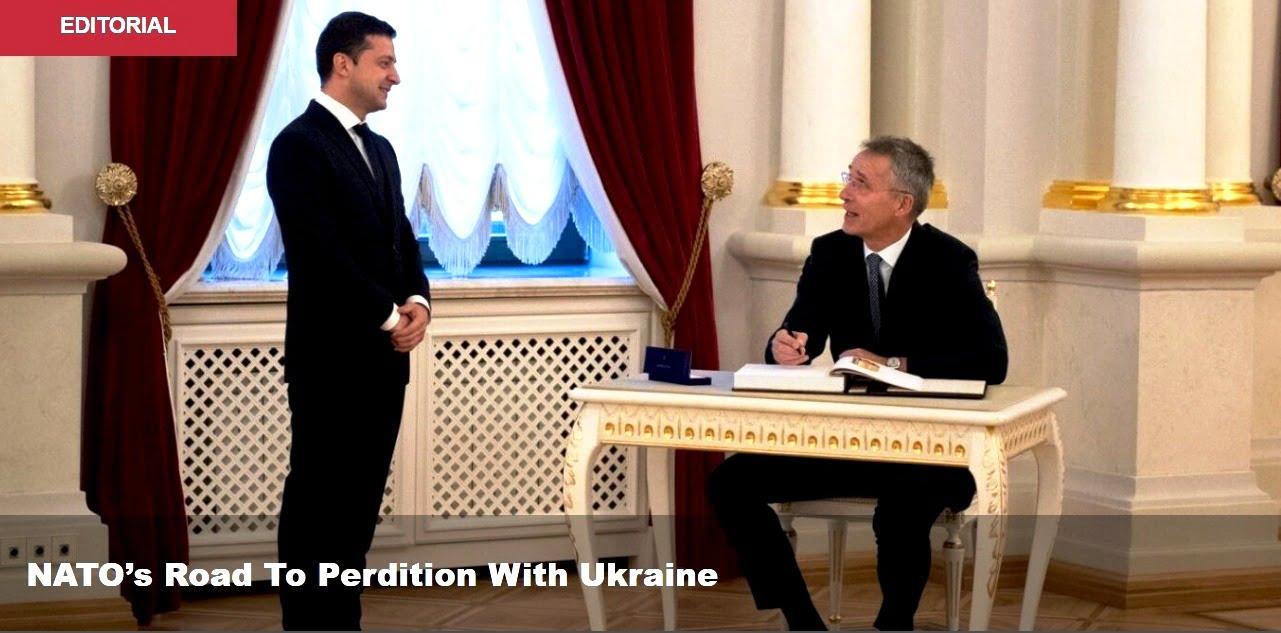 Ο δρόμος του ΝΑΤΟ προς την Aπώλεια Μαζί με την Ουκρανία
