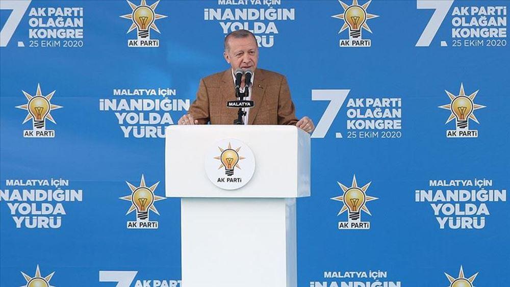 Ο Ερντογάν ανερυθρίαστα προαναγγέλλει συνέχιση του πογκρόμ εναντίον των Κούρδων, με την ανοχή της Ε.Ε.