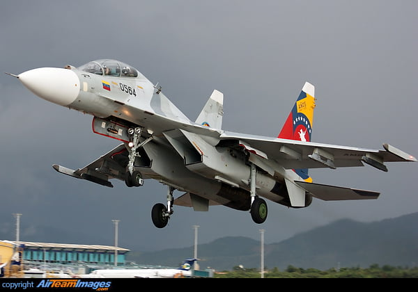 Βενεζουέλα: Αξιωματικός προσπάθησε να πουλήσει μέσω Κολομβίας στις ΗΠΑ πληροφορίες για το ρωσικό μαχητικό Su-30MK2