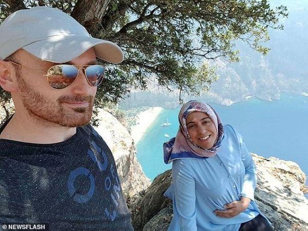 Επέστρεψε στον τόπο του «εγκλήματος» ο Τούρκος που έσπρωξε την έγκυο γυναίκα του από γκρεμό