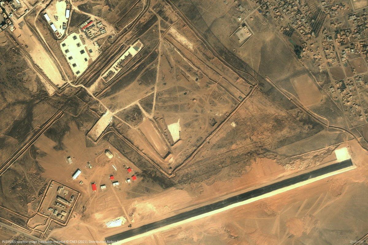Ο στρατός των ΗΠΑ κατασκεύασε δύο νέα αεροδρόμια στη Ροζάβα – ΒΑ Συρία