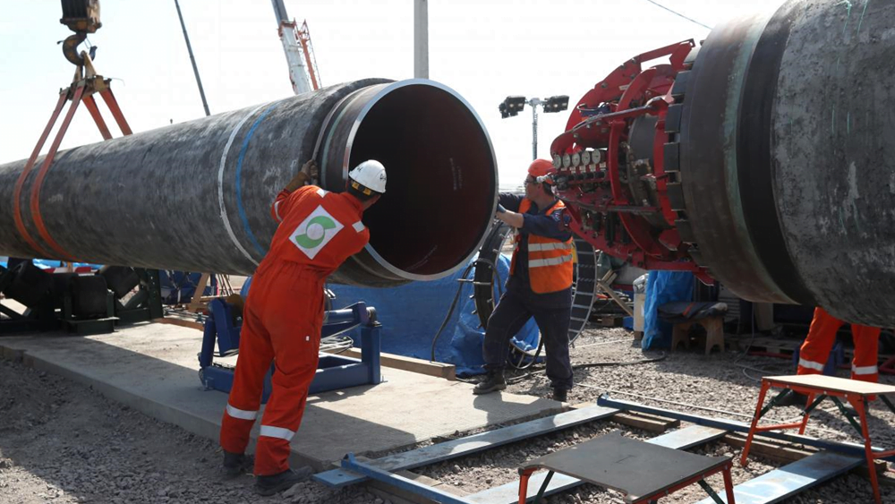 """Ρωσία και Γερμανία """"νίκησαν"""" τις ΗΠΑ – Συνεχίζεται η κατασκευή του Nord Stream 2"""