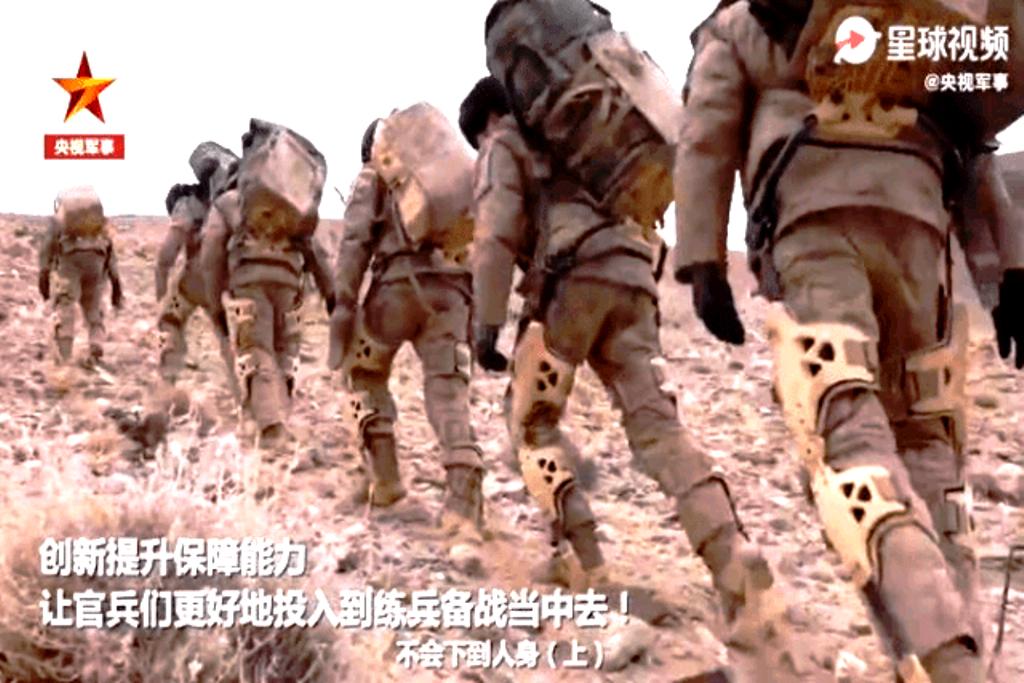 Η Κίνα αναπτύσσει εξωσκελετούς σε μεγάλη κλίμακα