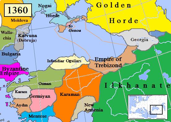 Η Αυτοκρατορία της Τραπεζούντας και η Χρυσή Ορδή