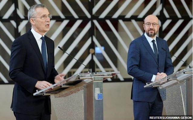 Σε στενότερη συνεργασία Ε.Ε και ΝΑΤΟ προσβλέπουν Στόλτενμπεργκ και Σαρλ Μισέλ