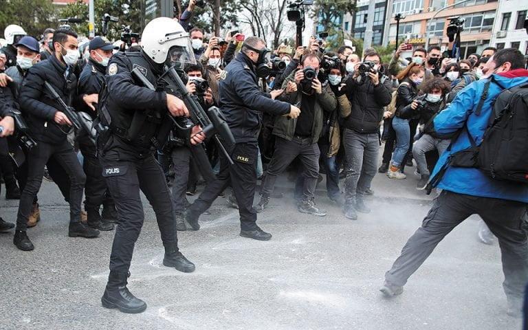 Το φάντασμα των διαδηλώσεων του Γκεζί, το 2013, στην Τουρκία