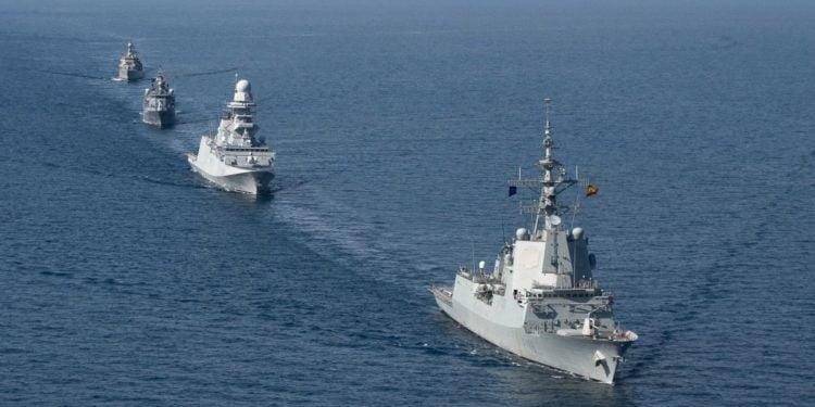 Συμμετοχή του Ελληνικού Πολεμικού Ναυτικού στην άσκηση του ΝΑΤΟ «Dynamic Manta 21»