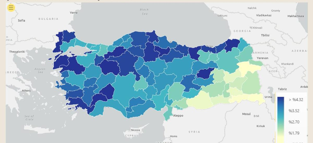 Ρατσισμός του Ερντογάν εναντίον των Κούρδων – Λιγότεροι εμβολιασμοί στους κουρδικούς νομούς