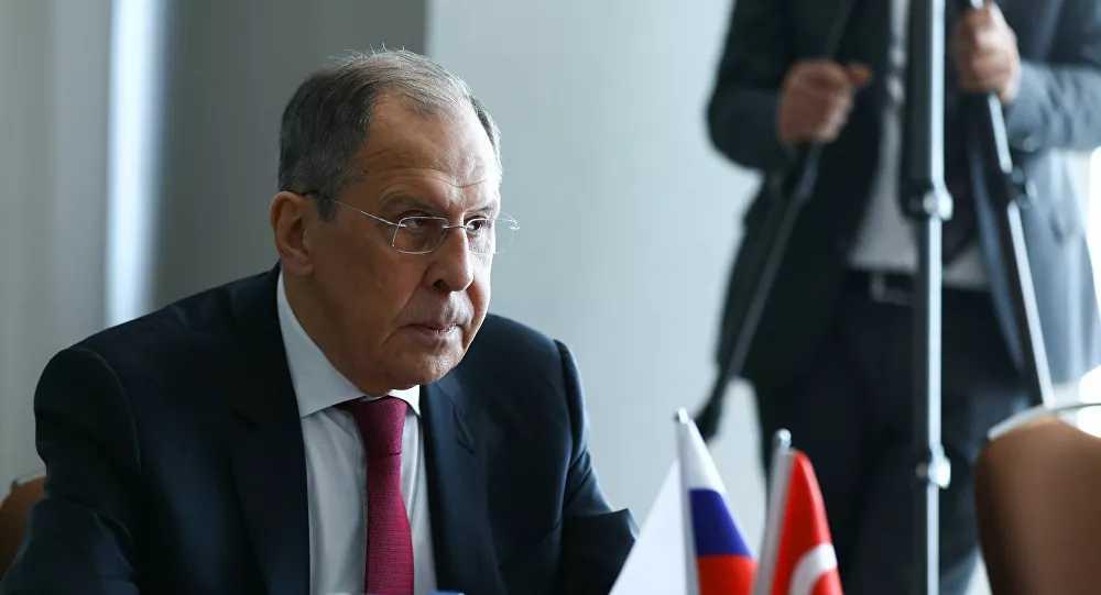 """Λαβρόφ: """"Τι κάνουν οι ΗΠΑ στο έδαφος της Ουκρανίας και στα νερά της Μαύρης Θάλασσας;"""""""