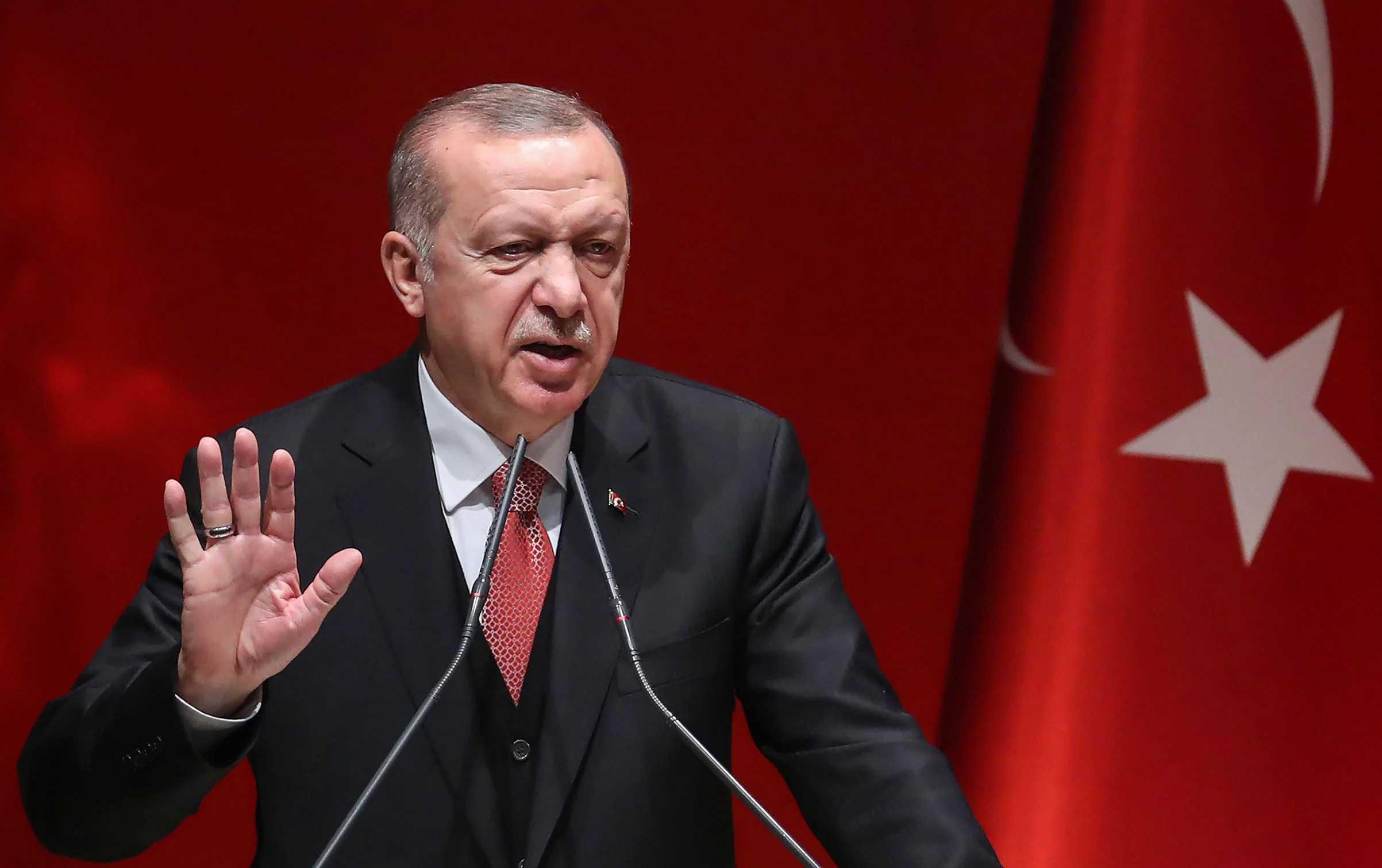 Προκλητικός ο Ερντογάν: Κάποτε θέλησαν να μας αιχμαλωτίσουν στην Ανατολία – Απογοητεύτηκαν στον κόλπο της Σμύρνης
