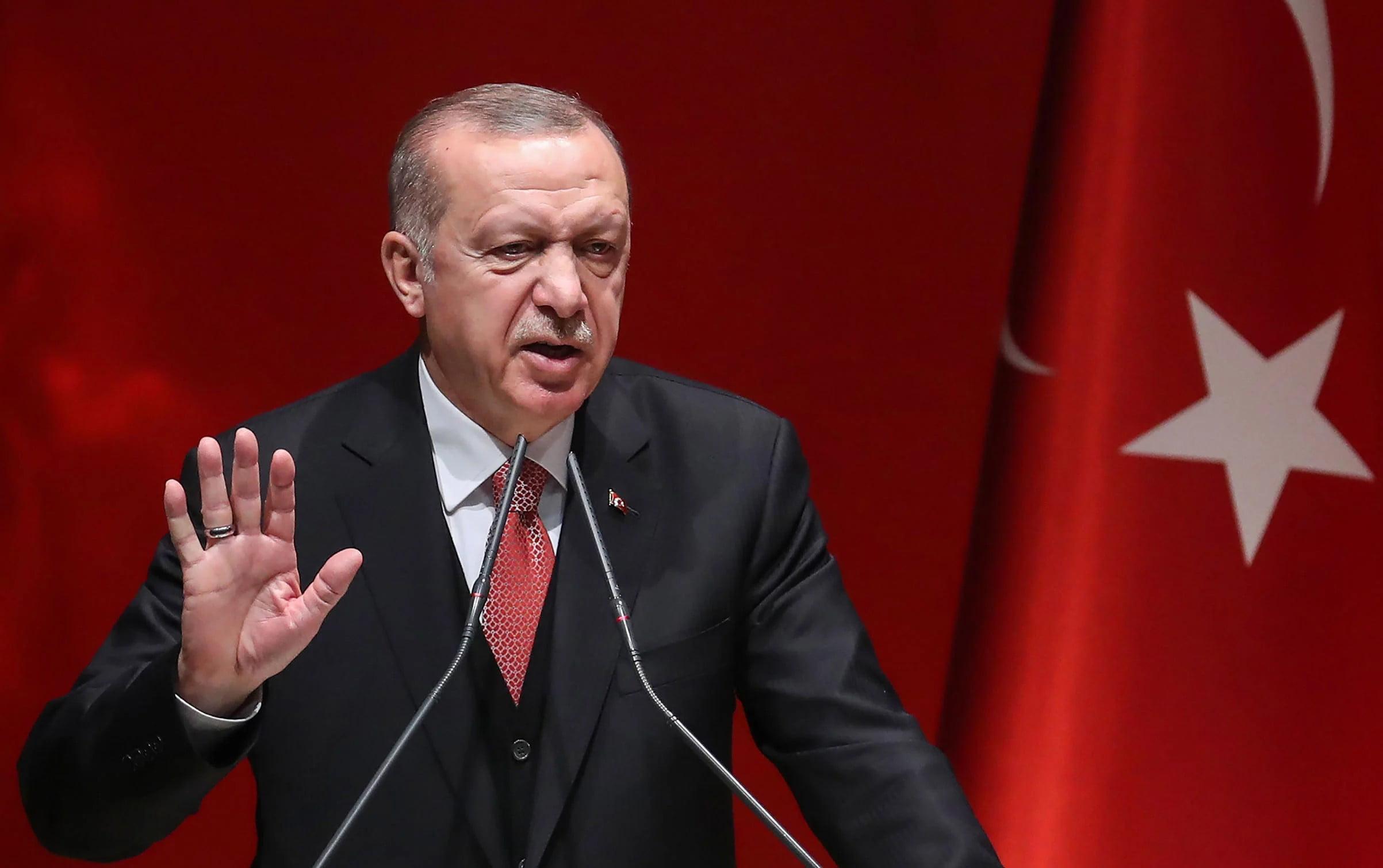 Εμετικός Ερντογάν! Πρόκληση με τη σφαγή των Ελλήνων στη Σμύρνη