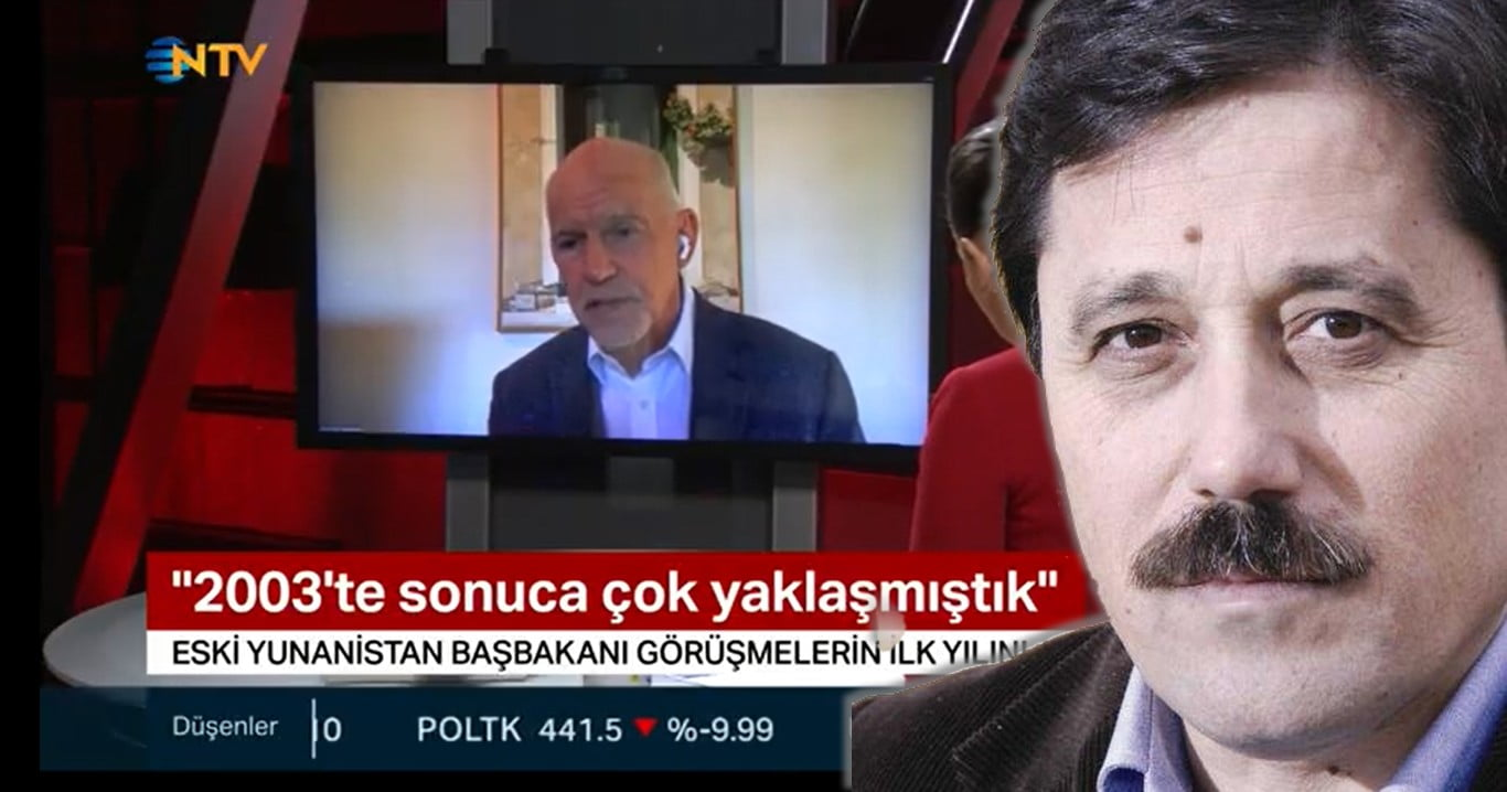 Ο Σάββας Καλεντερίδης σχολιάζει την αποκάλυψη ΓΑΠ περί συμφωνίας το 2003 στα ελληνοτουρκικά