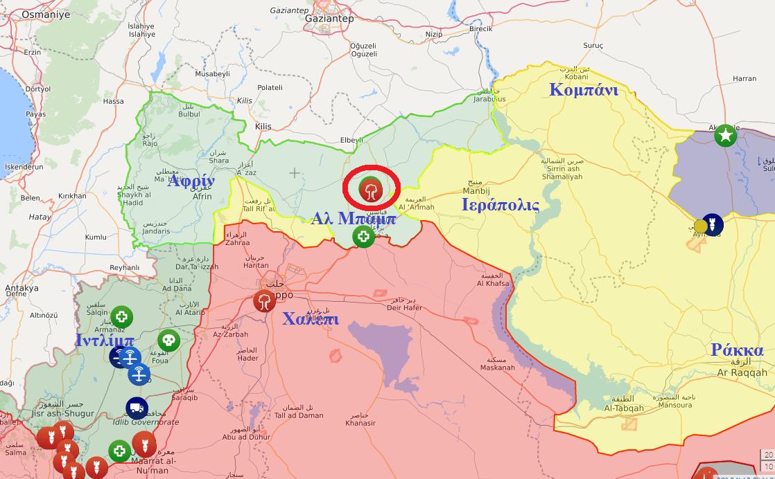 Βαλιστικοί πύραυλοι έπληξαν πετρελαϊκές εγκαταστάσεις τουρκικών συμφερόντων στην Αλ Μπαμπ
