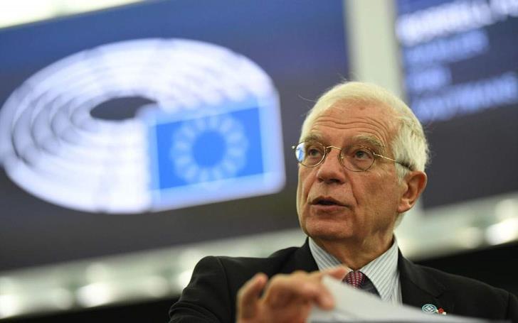 """Ο """"υπουργός Εξωτερικών"""" της Ε.Ε., Μπορέλ, στην Κύπρο με διπλή ατζέντα"""