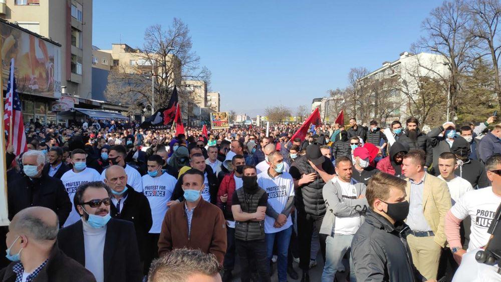 Σκόπια: Επεισόδια στη διάρκεια διαδήλωσης Αλβανών, μετά την προσευχή της Παρασκευής