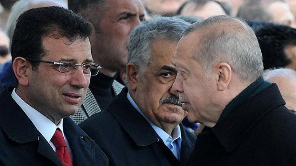"""""""Πλακώνονται"""" Ερντογάν-Ιμάμογλου για τη διώρυγα της Κωνσταντινούπολης"""