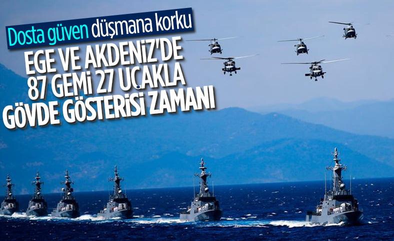 """Η Τουρκία, αφού πήρε το """"συγχωροχάρτι"""" με τις διερευνητικές, κάνει την άσκηση """"Γαλάζια Πατρίδα"""""""