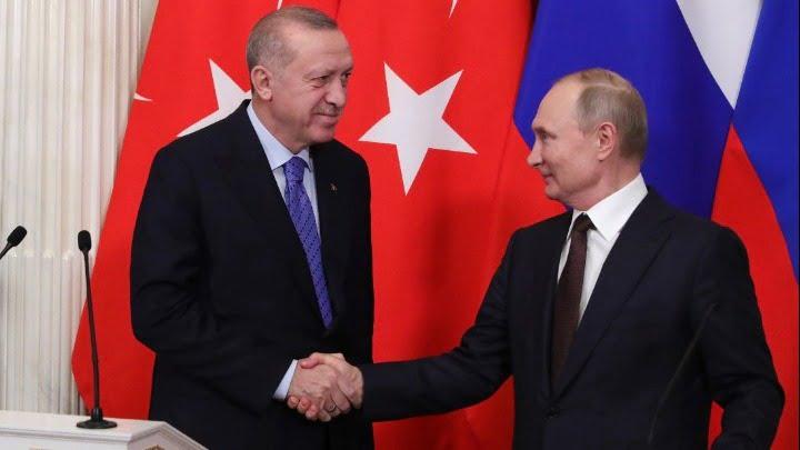 Τηλεφωνική επικοινωνία Πούτιν-Ερντογάν: Συνεργασία σε ενέργεια, πανδημία, Συρία, Λιβύη