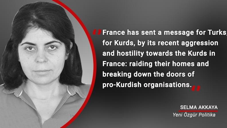 Προσοχή! Η Γαλλία πρόδωσε τους Κούρδους, για να ικανοποιήσει τον Ερντογάν!