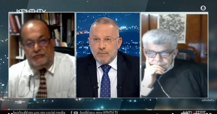 """""""Αντιθέσεις"""" του Γιώργου Σαχίνη: Ελληνοτουρκικά, Κυπριακό και Αν. Μεσόγειος (βίντεο)"""