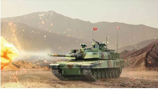 Η Τουρκία συμφώνησε με την Ν. Κορέα για τον κινητήρα του άρματος Altay
