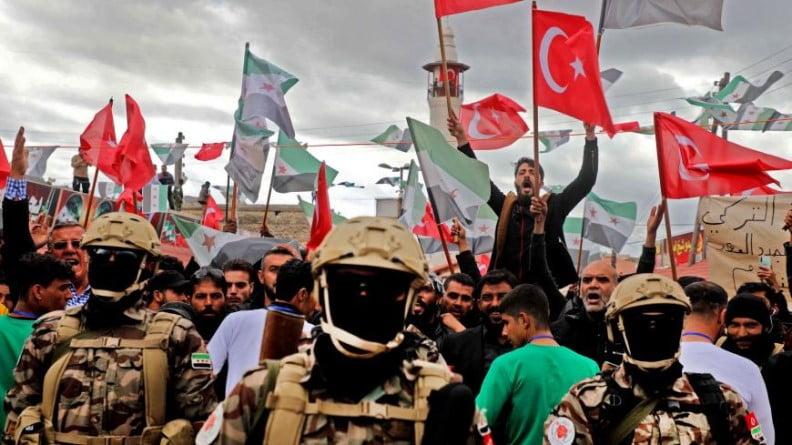 Ο Ερντογάν θέλει να κάνει συνένοχο τη Δύση στα εγκλήματά του στη Συρία