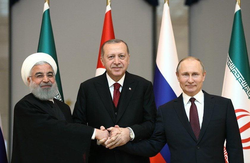 Eνισχύονται οι δεσμοί Τουρκίας, Ρωσίας και Ιράν για διαχείριση της Μέσης Ανατολής