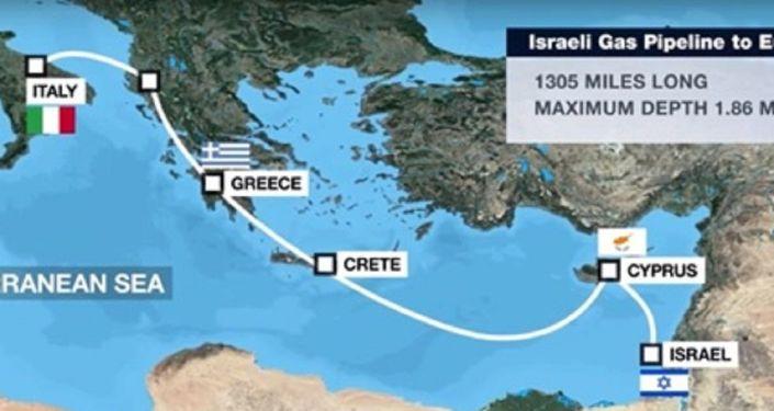 Αγωγός East Med: Αυτοί είναι οι τέσσερις λόγοι που ίσως αφήσουν εκτός την Κύπρο