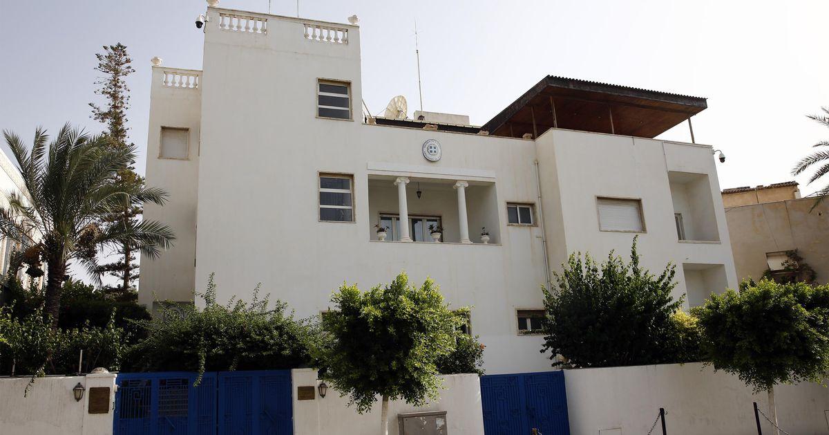 Η επαναλειτουργία της Ελληνικής Πρεσβείας στη Λιβύη