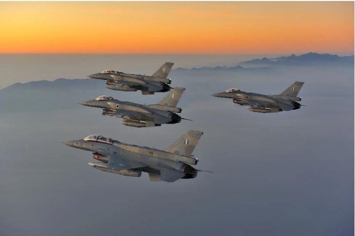 Πάνω από 60 μαχητικά, πέντε ξένων χωρών, στον «Ηνίοχο 2021» – Πολλαπλά μηνύματα
