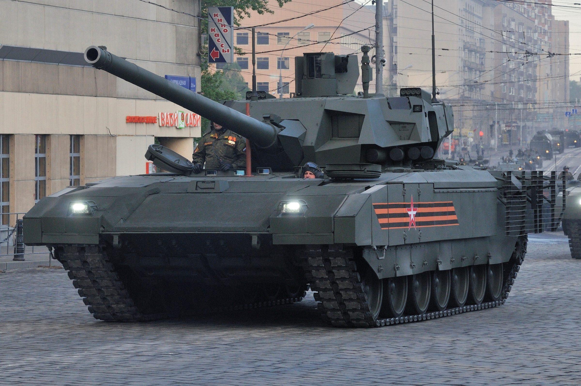 Το ρωσικό τανκ Τ-14 μπορεί να ανιχνεύσει στόχους χωρίς τη συμμετοχή του πληρώματος