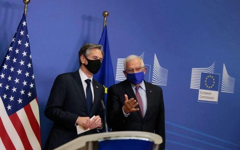 Μπορέλ – Μπλίνκεν: Συνεργασία Ε.Ε. – ΗΠΑ για αποκλιμάκωση στην Αν. Μεσόγειο
