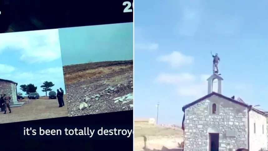 Πολιτιστικό έγκλημα από το Αζερμπαϊτζάν καταγγέλλουν οι Αρμένιοι!