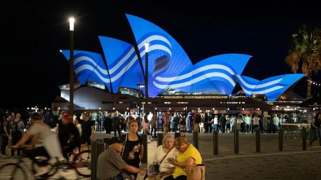 """Βροντοφώναξαν """"ζήτω η Ελλάδα"""" στην Αυστραλία"""