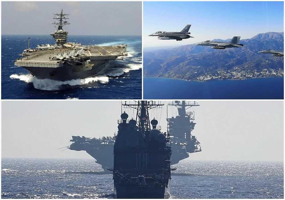 Στην Κρήτη και στη Σούδα πυρηνοκίνητο Αμερικανικό αεροπλανοφόρο – Συνεκπαίδευση με τις Ελληνικές ένοπλες δυνάμεις