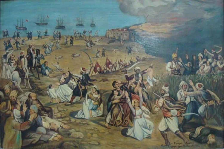 Η Σφαγή της Χίου στις 30 Μαρτίου 1822: Το αίμα ρέει στο νησί, γεμίζουν τα σκλαβοπάζαρα