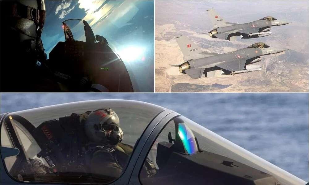 Με «κομμένα τα φτερά» η τουρκική αεροπορία: «Black out» και «ασφυξία» – Κυρίαρχα στην περιοχή τα Ελληνικά «γεράκια»