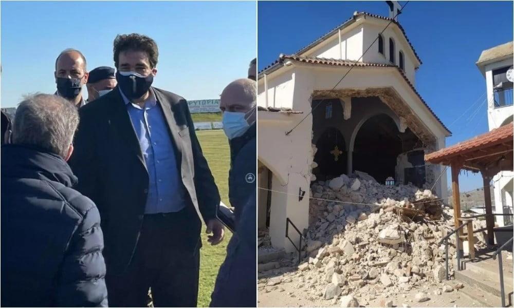 Σεισμός στη Θεσσαλία: Έφτασε το κυβερνητικό κλιμάκιο – Σκηνές στα χωριά που επλήγησαν – Ζημιές σε 30 σπίτια