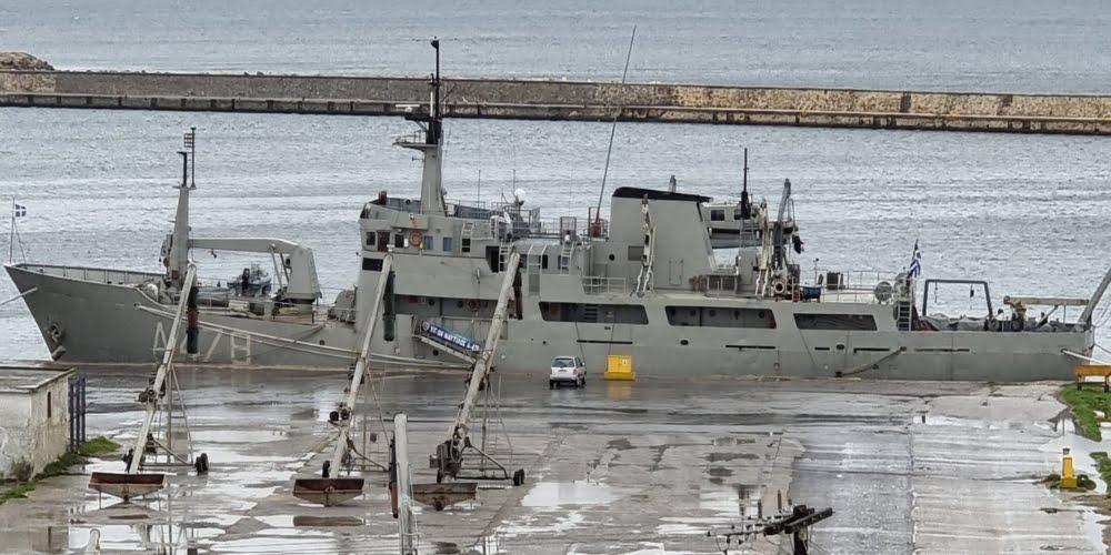 """Στο λιμάνι της Αλεξανδρούπολης από σήμερα το Πολεμικό υδρογραφικό-ωκεανογραφικό """"Ναυτίλος"""""""