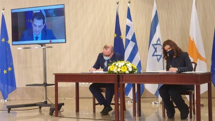 Υπουργός Ενέργειας του Ισραήλ: Ο EastMed μπορεί να είναι έτοιμος σε 5 χρόνια (βίντεο)