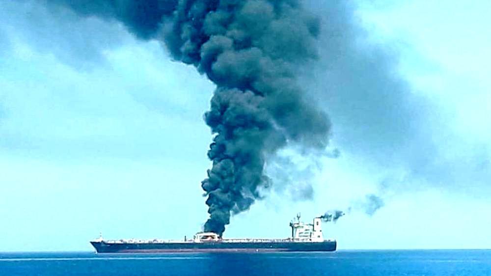 Επίθεση σε Ιρανικό πλοίο ενώ έπλεε στη Μεσόγειο καταγγέλλει η Τεχεράνη