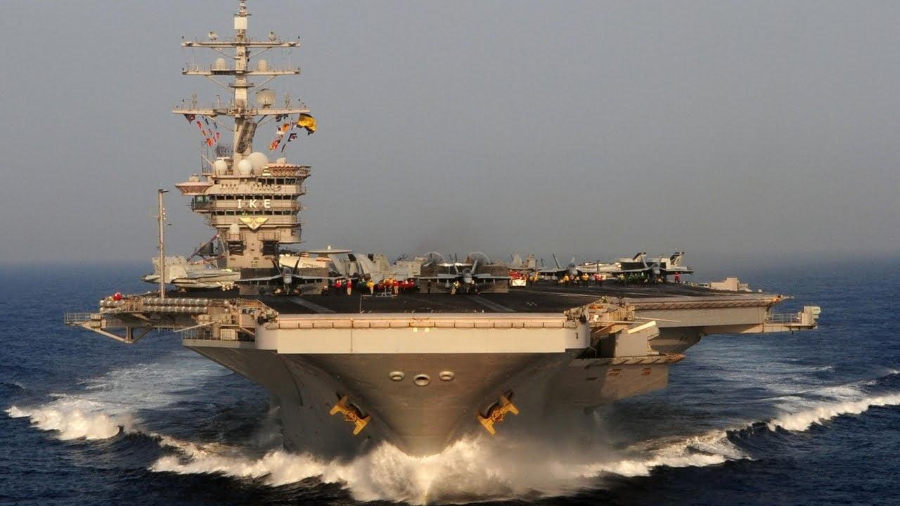 Το Eisenhower με τα F-18 στην Ελλάδα μετά το «De Gaulle» και τα RAFALE: Σαφές μήνυμα προς ανατολάς