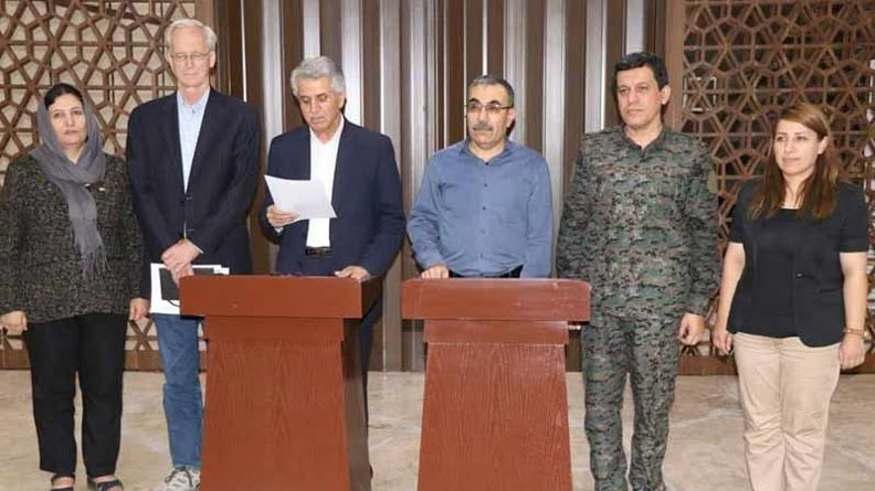 Η Κούρδοι συμφώνησαν μεταξύ τους στη Συρία και η Άγκυρα ανησυχεί