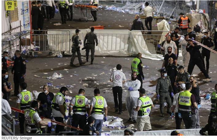 Τραγωδία στο Ισραήλ – Τουλάχιστον 44 νεκροί σε θρησκευτική γιορτή
