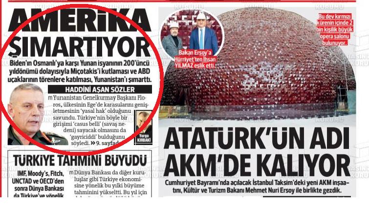 Είπε ο Έλληνας ΓΕΕΘΑ τα αυτονόητα για το casus belli και η Τουρκία παρεξηγήθηκε!